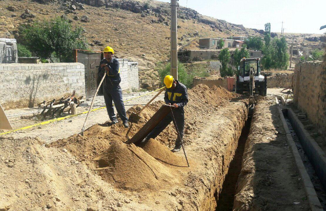 گازرسانی به هفت روستای تفرش در حال اجرا