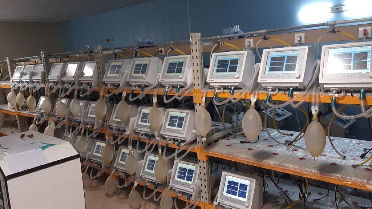 کارخانه تولید دستگاه تنفس مصنوعی مشهد به چرخه تولید برمی گردد