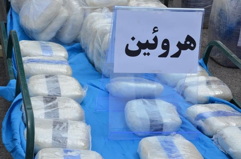 کشف ۲۰ کیلوگرم هروئین در عملیات مشترک پلیس استان مرکزی و فارس