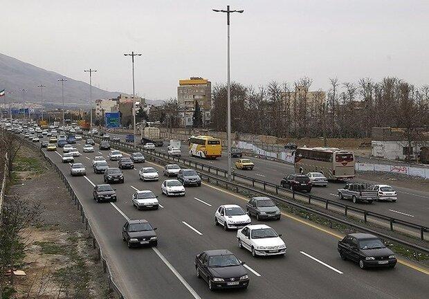 کاهش ۴۶ درصدی ترددها در استان همدان