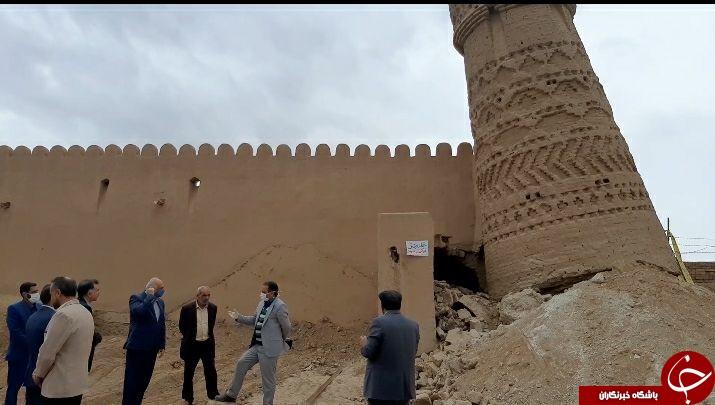 بازسازی چهار برج یزدان آباد شتاب می گیرد
