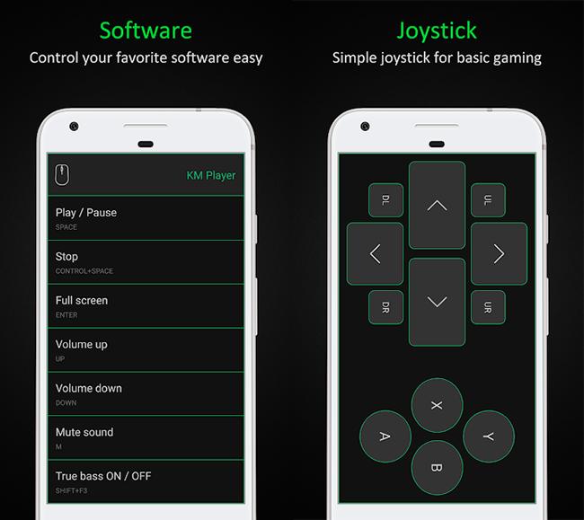 آموزش تبدیل گوشیهای اندرویدی به ماوس، کیبورد، گیم کنترلر و پرزنتر بیسیم