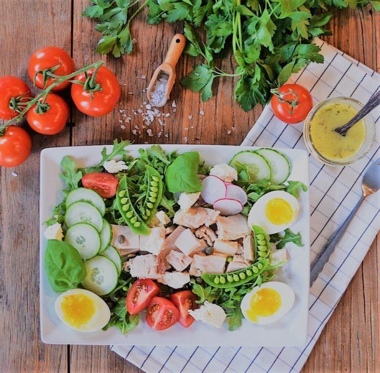 طرز تهیه سالاد تن ماهی مجلسی به سبک ایرانی، ایتالیایی و فرانسوی