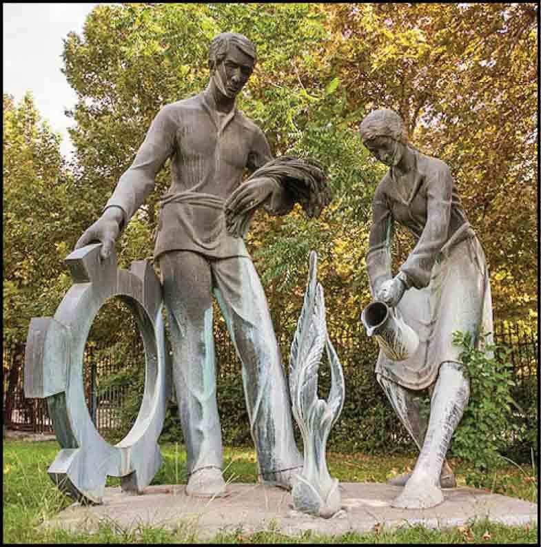 مجسمههای منحصر به فرد در قلب پایتخت +تصاویر