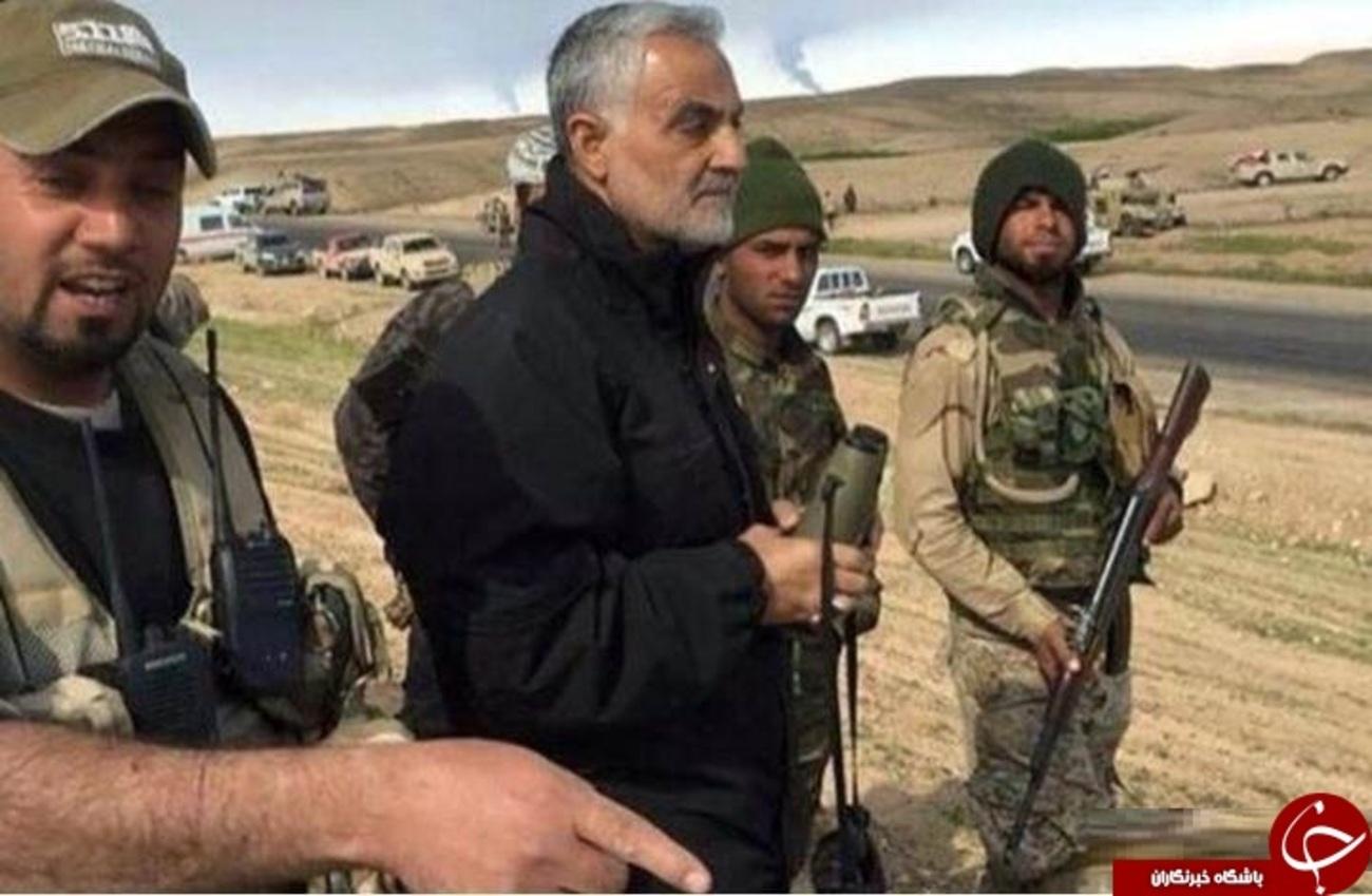 عملیات بزرگ «سردار سلیمانی» در محاصره داعش / وقتی فرمانده با هلکوپتر به وسط تکفیریها رفت!