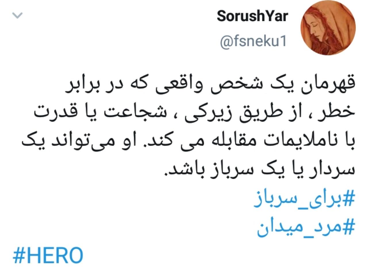 سردار سلیمانی، قهرمان ملی و تاریخی