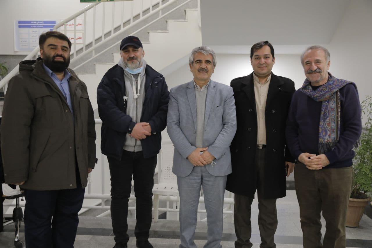 پایان تصویربرداری سریال «صبح آخرین روز» در دانشگاه شهید بهشتی + عکس