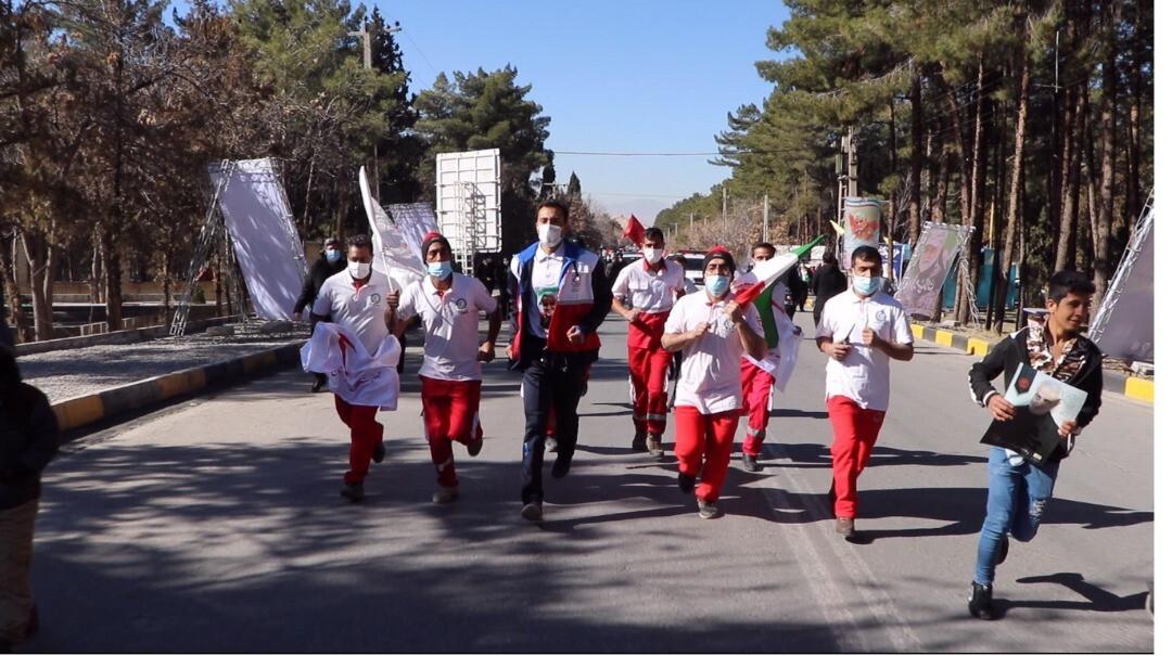 حضور سفیر صلح و دوستی جمعیت هلال احمر در کرمان