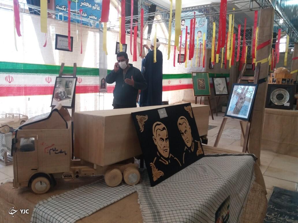 برپایی نمایشگاه آثار تولیدی مددجویان زندانهای کشور در کرمان