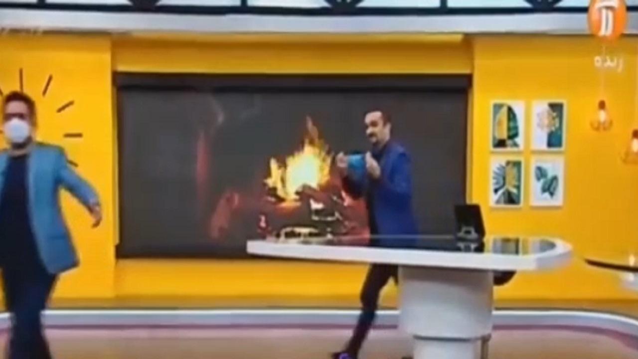 وقتی نیما کرمی در برنامه زنده، تهران را تعطیل میکند! + فیلم