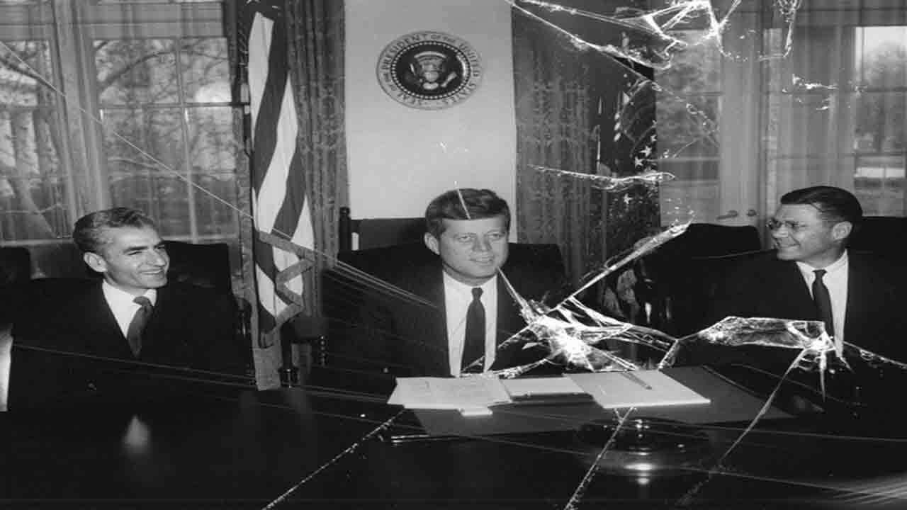 محمدرضا پهلوی و آمریکا