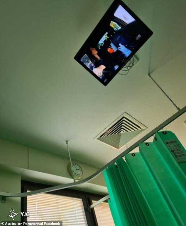 صحنه ای در بیمارستان