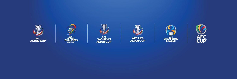 رونمایی AFC از لوگوهای مسابقات فوتبال آسیا