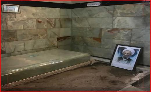 تشییع آیت الله مصباح یزدی در قم + فیلم و تصاویر/ پیکر عمار انقلاب در خاک آرام گرفت