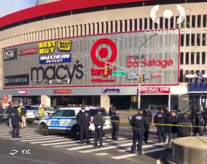 تخلیه یک مرکز تجاری در نیویورک