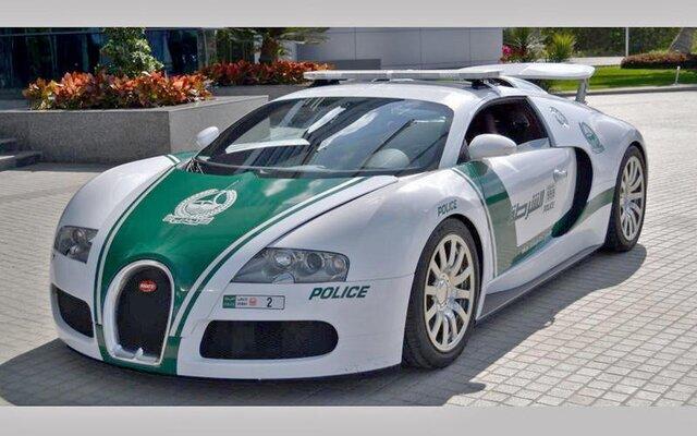 ۱۰ خودروی لوکس پلیس در دنیا