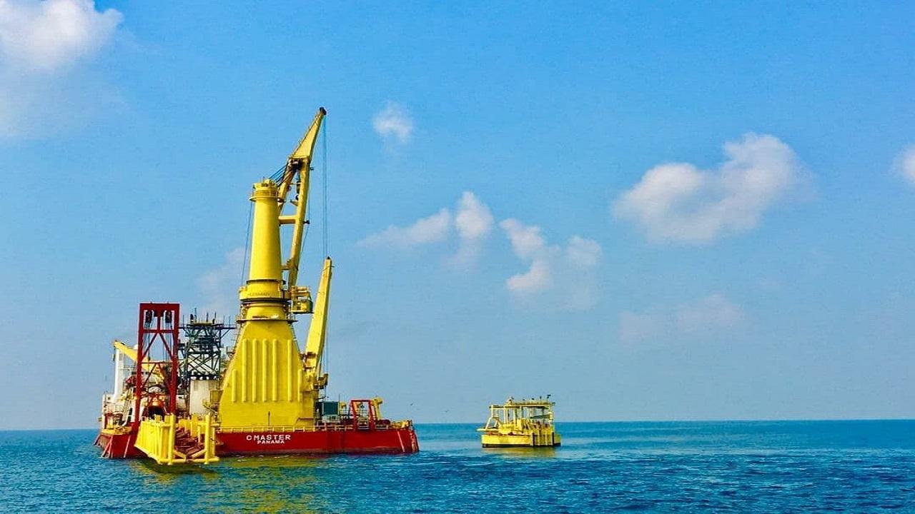 دومین گوی شناور صادرات میعانات گازی سایت ۲ پارس جنوبی نصب شد