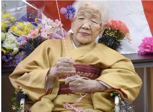 پیرترین مادر بزرگ جهان