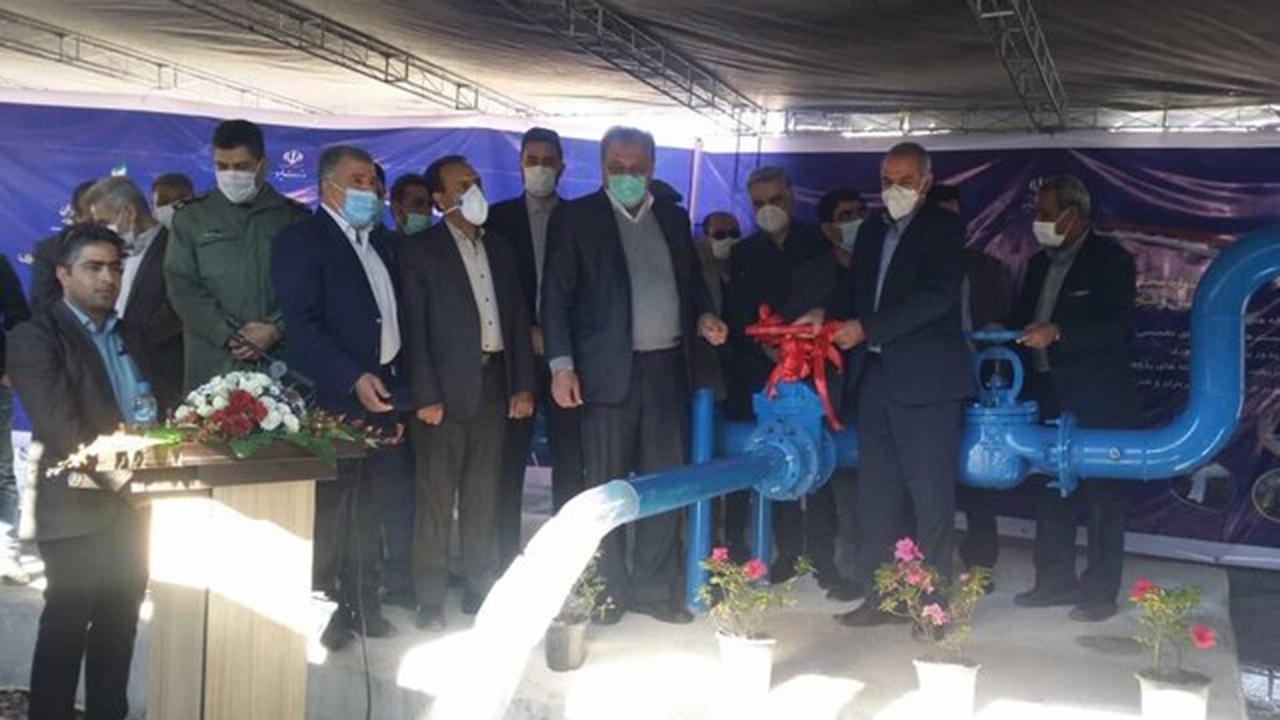 بهرهبرداری از پروژه آبرسانی به ۶۳ روستای فارس