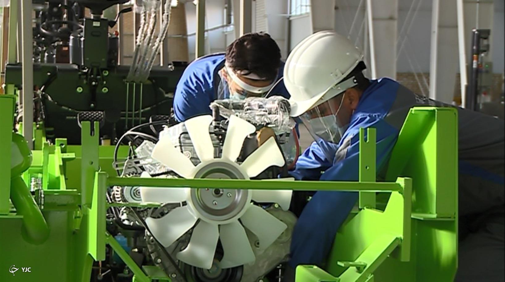 تولید انبوه لیفتراک ایرانی در ساوه به همت نسل چهارم انقلاب