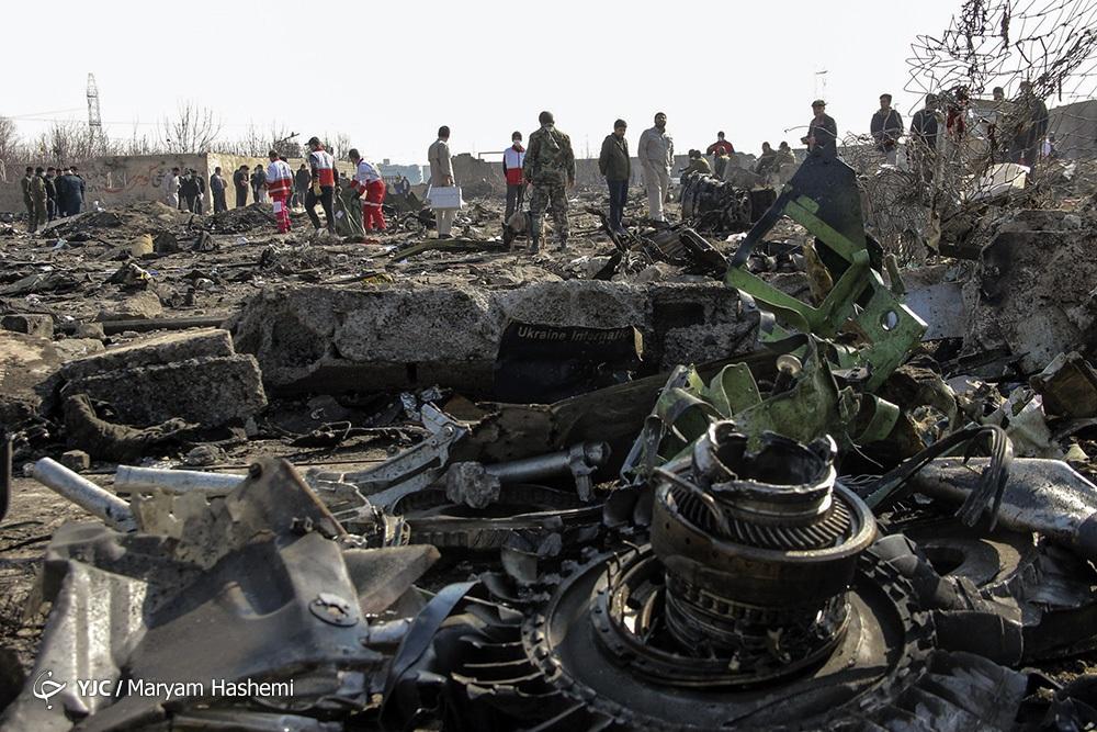 انتشار ابعاد جدیدی از حادثه سقوط هواپیما اوکراینی همزمان با اولین سالگرد آن/ پرونده با صدور کیفرخواست به دادگاه نظامی تهران ارسال میشود