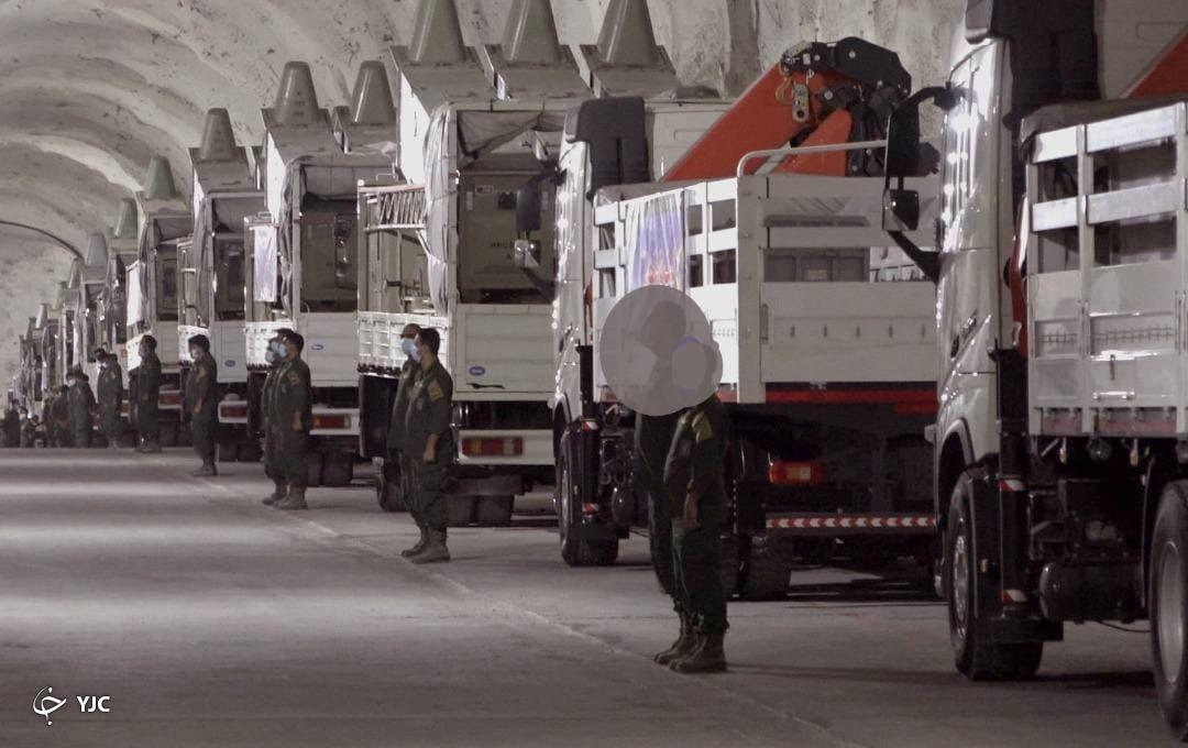 رونمایی از پایگاه موشکی سپاه در خلیج فارس