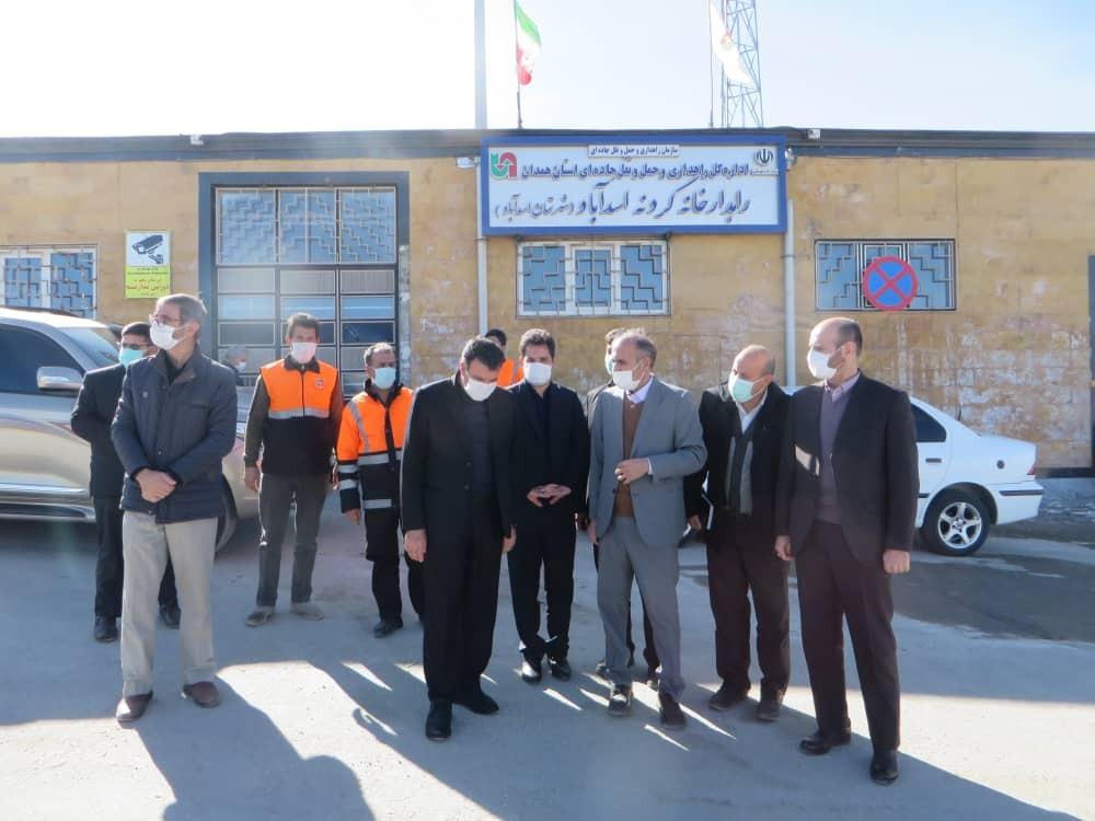لزوم تسریع در تزریق اعتبارات در محورهای ارتباطی اسدآباد