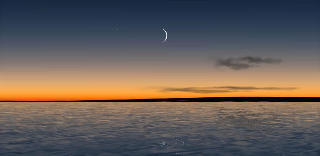 دانلود Moon Over Water Live Wallpaper