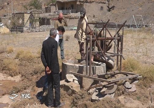 جانی دوباره در رگ های خشکیده قنوات در روستای دهنو