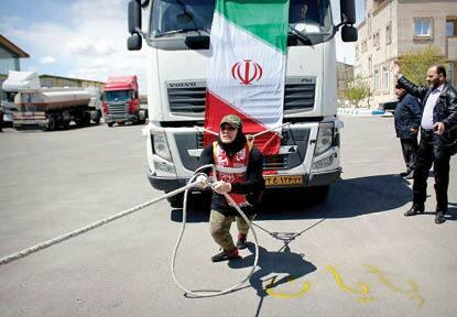 پولادیترین زن ایران:رکوردم را به افتخار سردار سلیمانی ثبت کردم