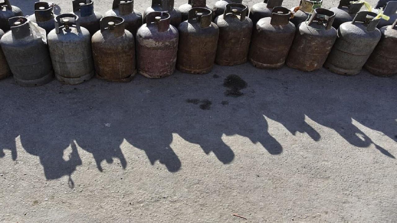 پشت پرده عجیب کپسولهای گاز ۲۵ کیلویی که طی دو روز خالی شدند + فیلم