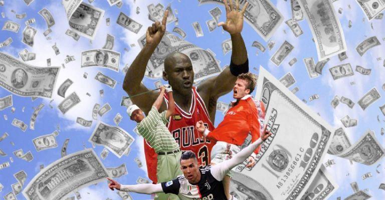 ثروتمندترین ورزشکار تاریخ کیست؟ کریستیانو رونالدو، مایکل جردن یا دیوید بکهام؟