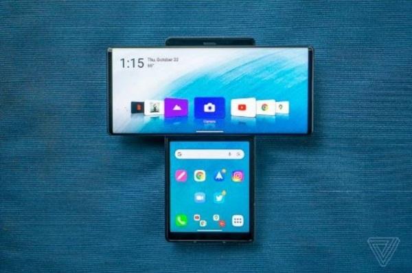 عرضه مدل جدید گوشی ال جی با فناوری جدید