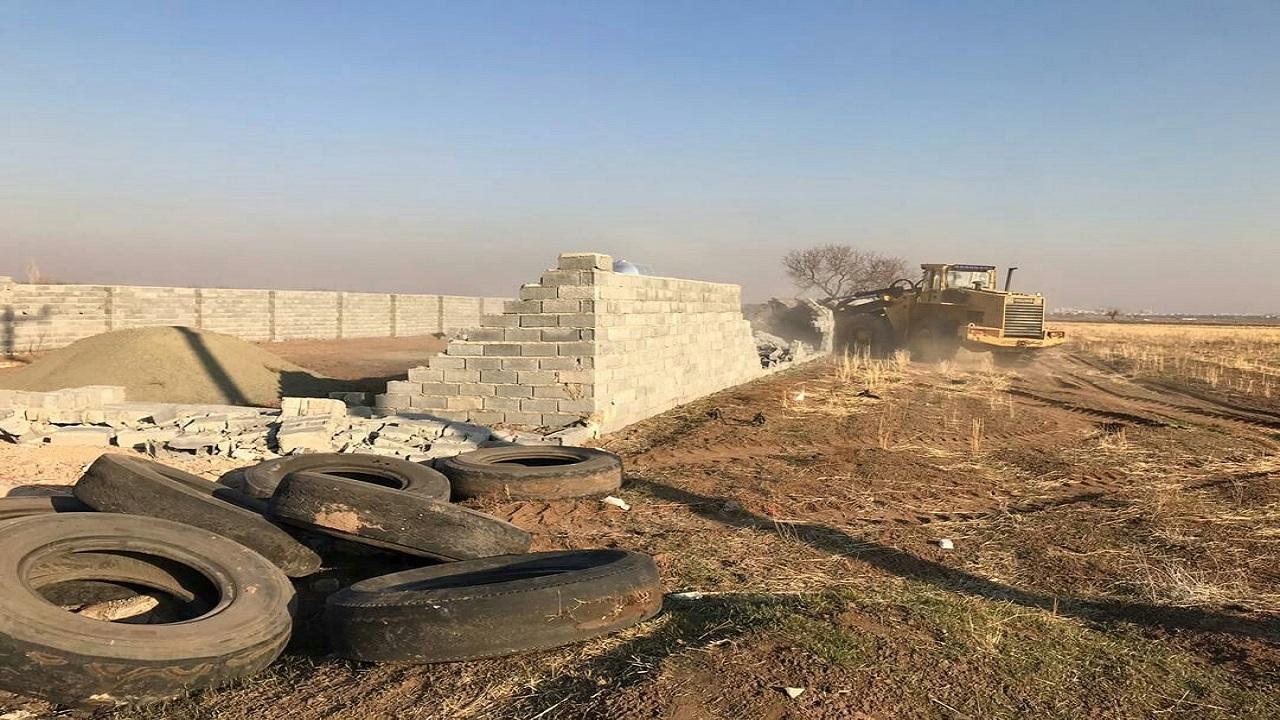 قلع و قمع ۵۷ مورد ساخت و ساز غیر مجاز در قزوین