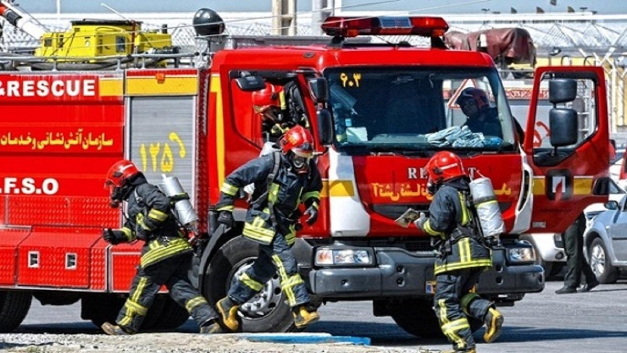 انجام ۸ عملیات امداد و نجات با تلاش آتش نشانان همدانی