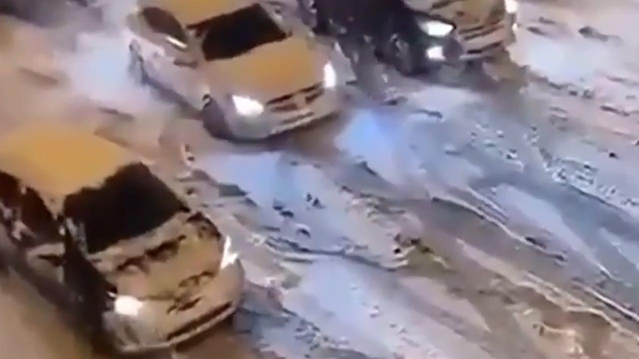 جاده لغزنده