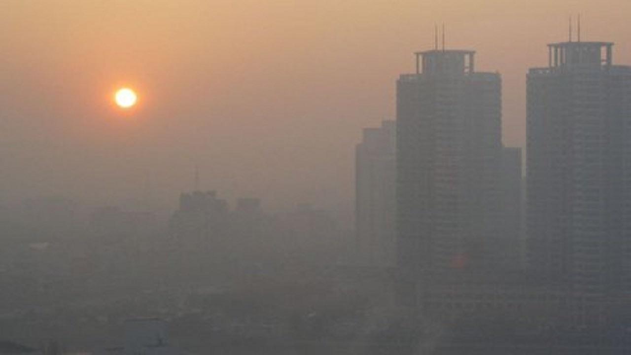 نمایی متفاوت از شدت آلودگی هوای تهران