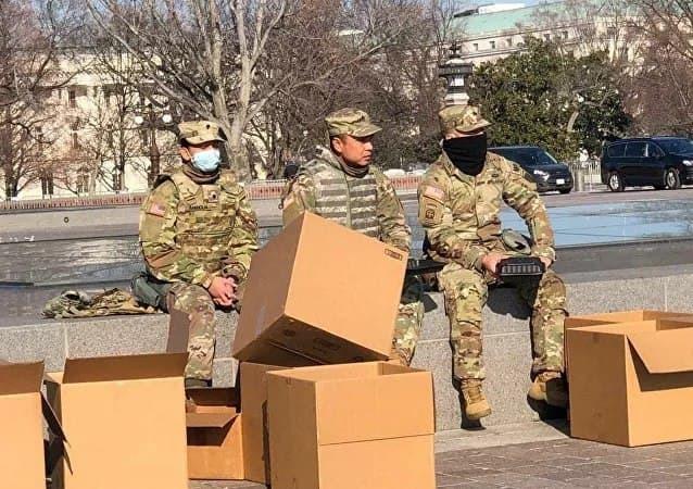 افزایش تدابیر امنیتی بیرون از کاخ کنگره آمریکا