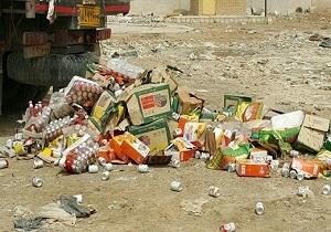 معدوم سازی ۷ تن مواد غذایی فاسد در ایذه