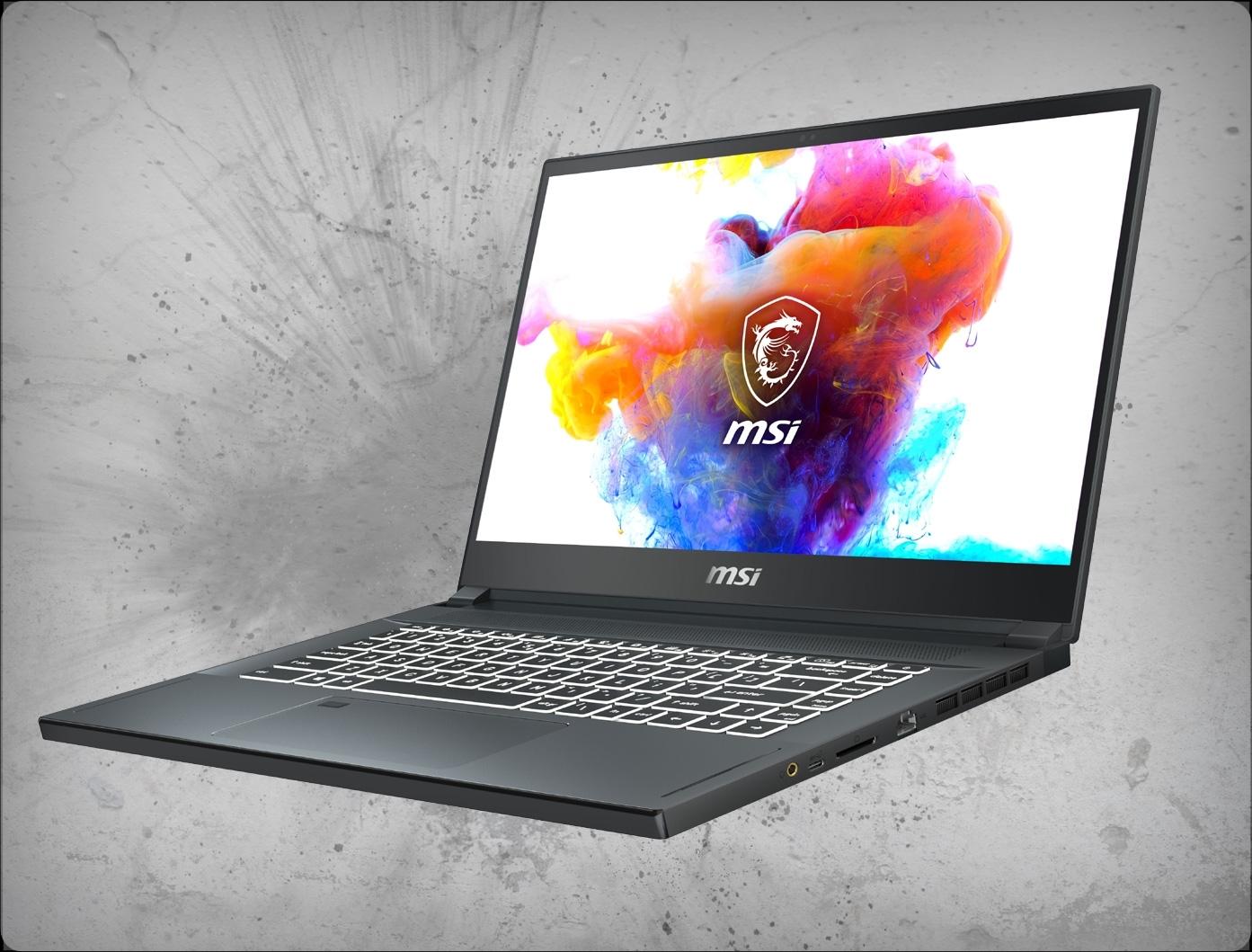 معرفی لپ تاپ Creator 15 شرکت MSI
