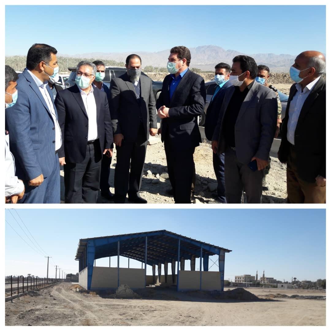 بازدید استاندار کرمان از پروژههای شهری علی آباد