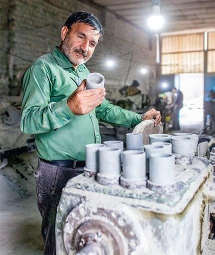 نابودی معادن سنگ مشهد به ریشه ی سنگ تراشی
