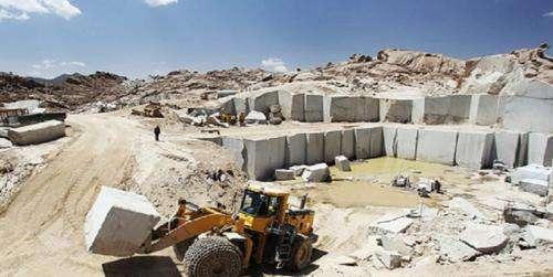 نابودی معادن سنگ تراشی در مشهد