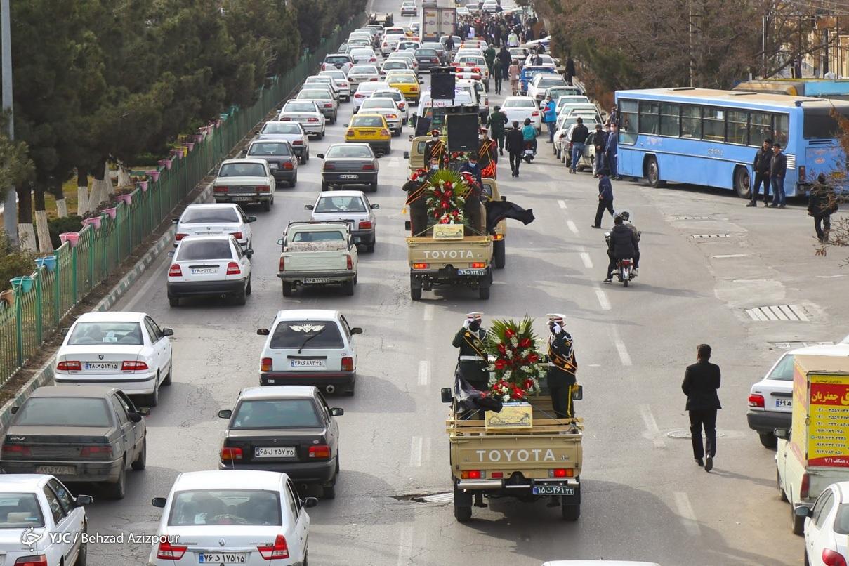 مراسم استقبال از شهدای گمنام دفاع مقدس - تبریز