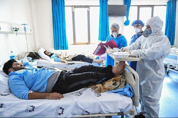 کروناییها در بیمارستان