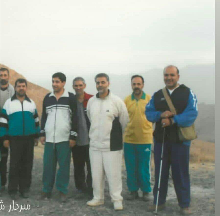 کوهنوردی شهید سلیمانی