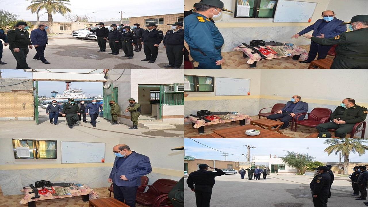تقدیر فرماندار ویژه شهرستان خرمشهر از زحمات مجاهدانه پلیس خرمشهر