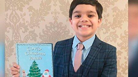 قرنطینه کرونایی از کودک ۸ ساله یک نویسنده ساخت