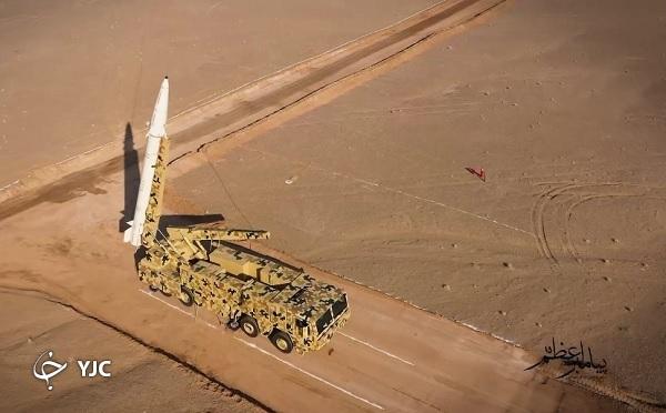 وقتی موشکها و پهپادهای انتحاری سپاه حریف میطلبند + تصاویر