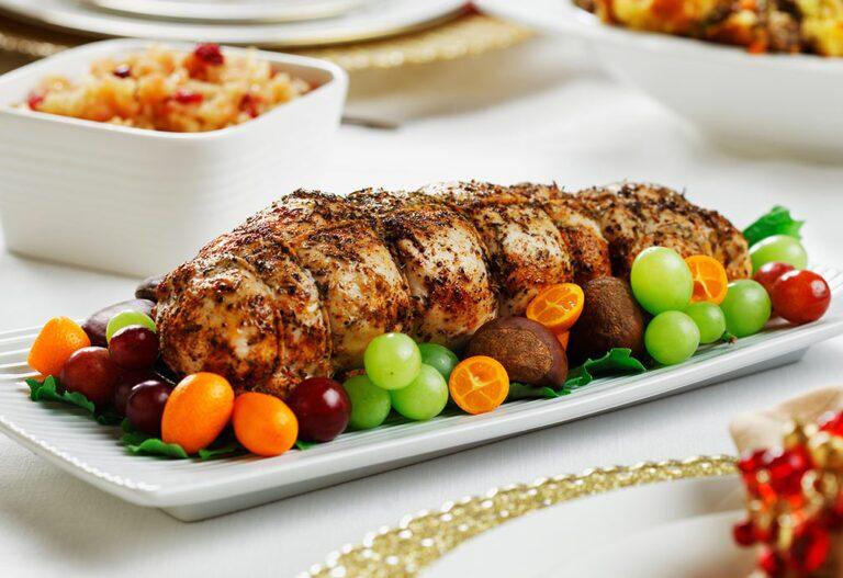 طرز تهیه رولت گوشت بوقلمون با سبزیجات، یک غذای خوشمزه و مجلسی